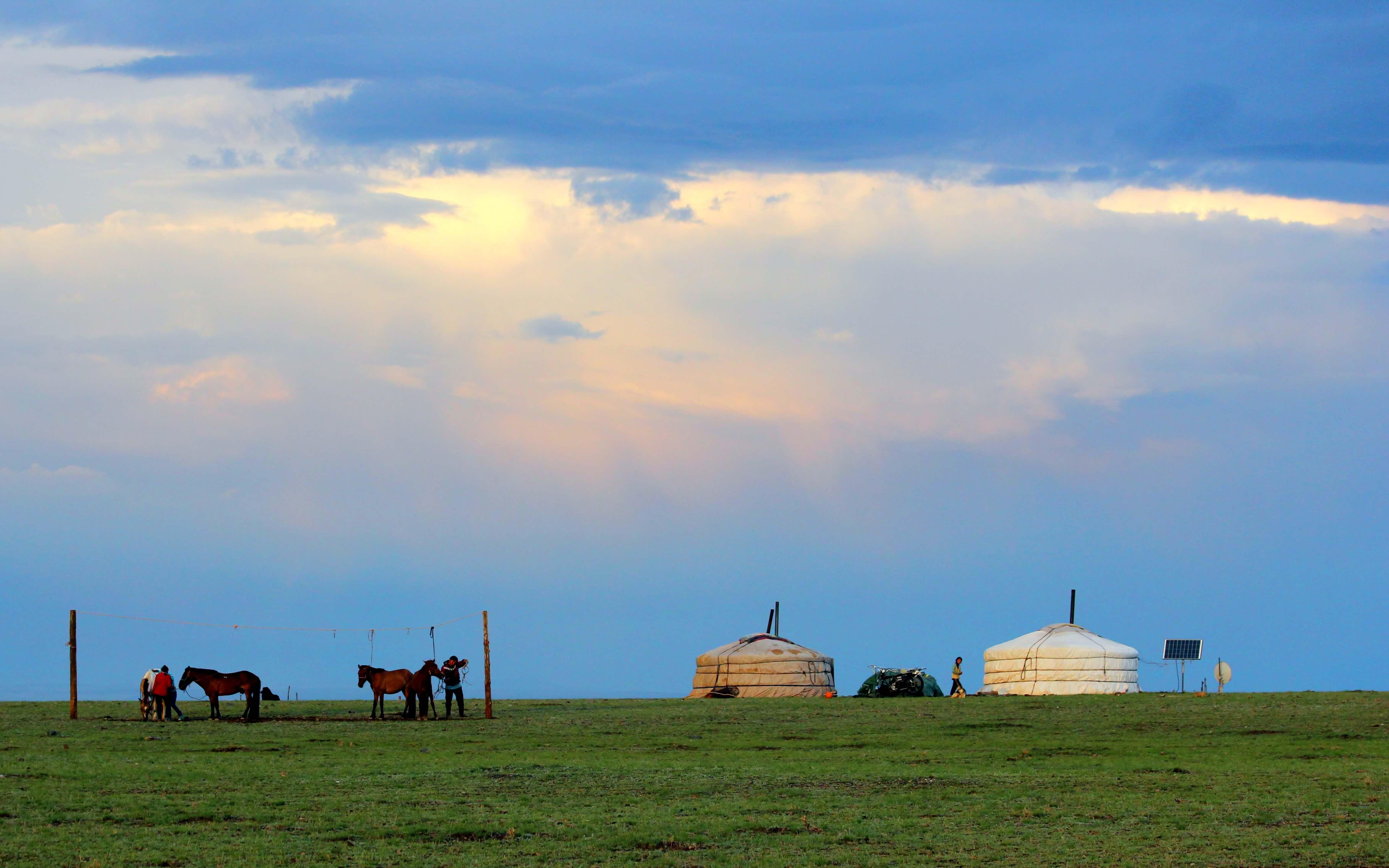 Mongolian namodic people