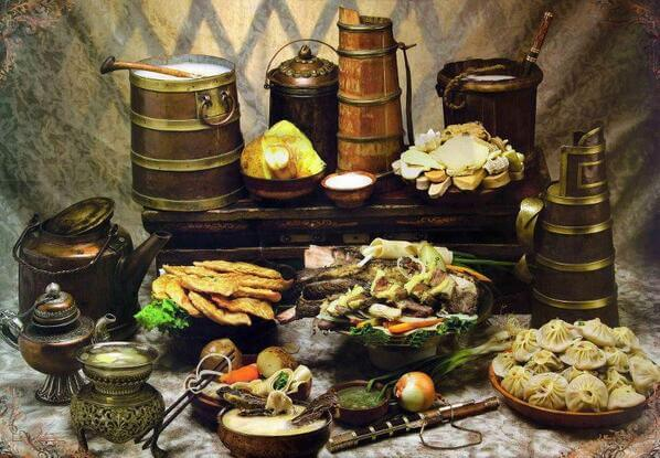 MONGOLIAN TRADITIONAL FOOD AND DRINKS